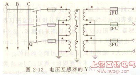 电压互感器接线图
