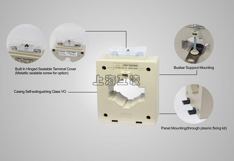 简介 MSQ系列电流互感器是我司电流互感器经典之作,共有7个规格。低成本,能够满足常规互感器 适用需求。该系列产品通过了CE认证,被众多国家的电力部门选用为电能计量用互感器 A range of (7 Models) classic plastic case current transformer, low cost, rich range can matct most requirdivents internationally.